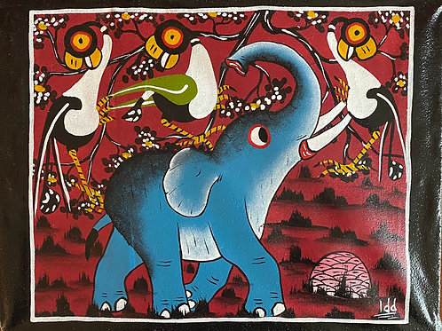 Tinga Tinga Elephant
