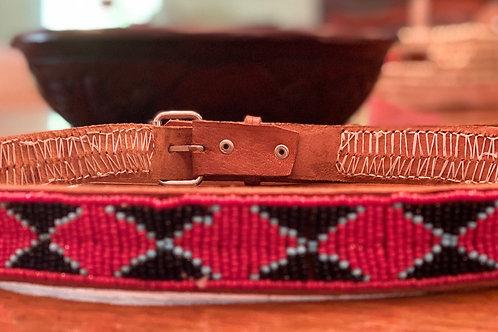 Maasai Beaded Belt