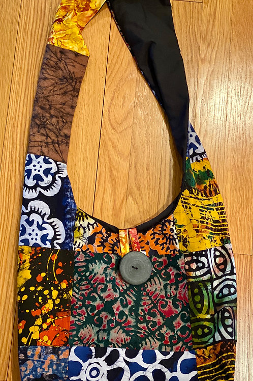 Batik Maasai Bag - Patchwork