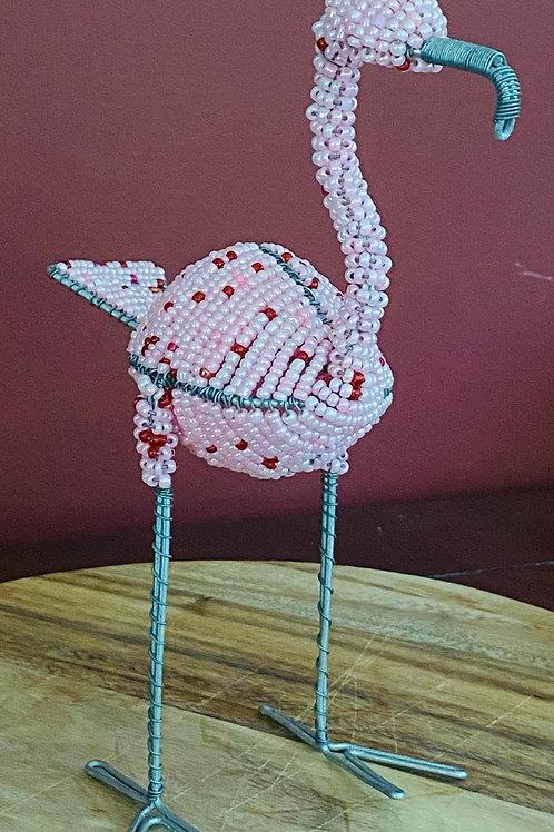 Beaded Flamingo