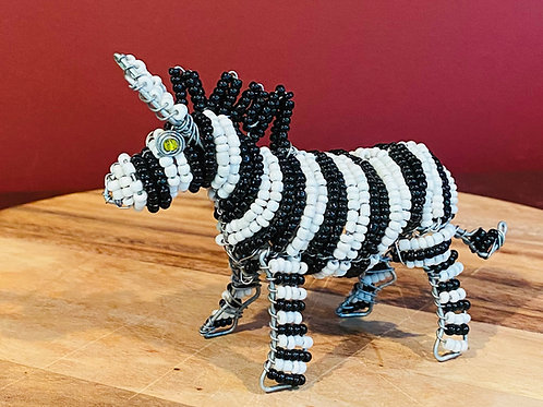 Beaded Zebra