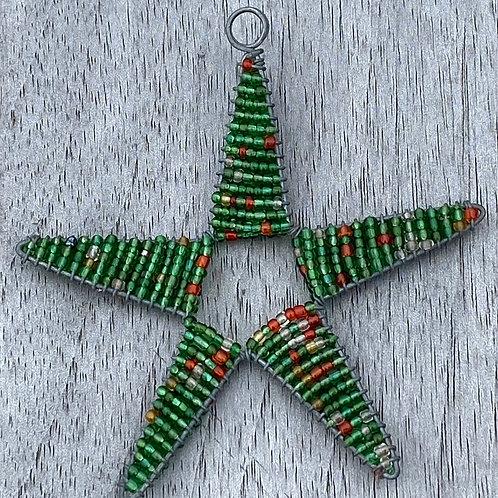 Bead Star Ornament
