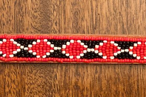 Maasai Beaded Dog Collar - Small