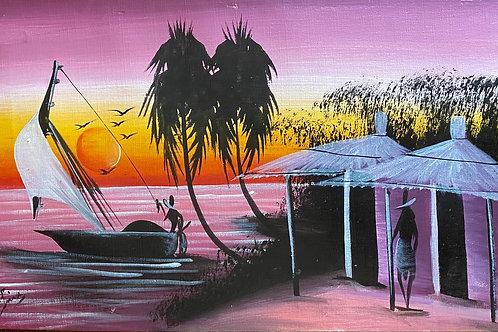 Tanzania Beach Scene