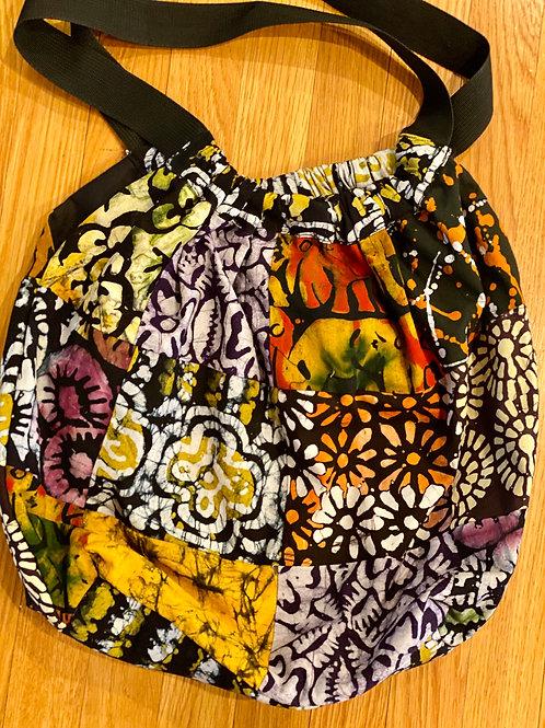 Batik Patch Market Bag