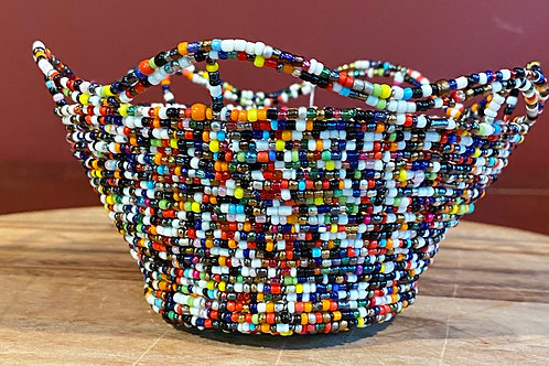 Beaded Wire Bowl
