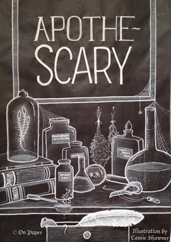 On Paper Apothescary Banner