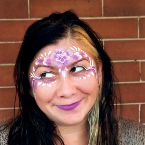 Face Paint Flower Crown