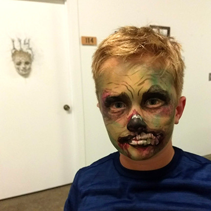 Face Paint Zombie