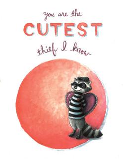 Raccoon Heart Thief card art