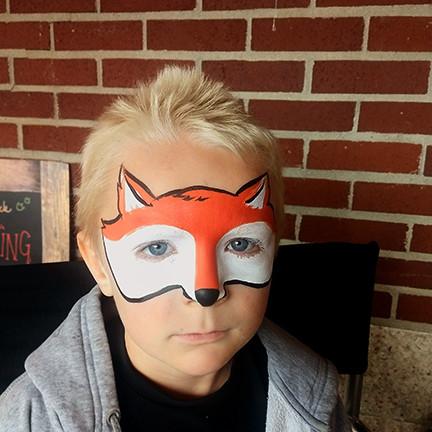 Face Paint Fox