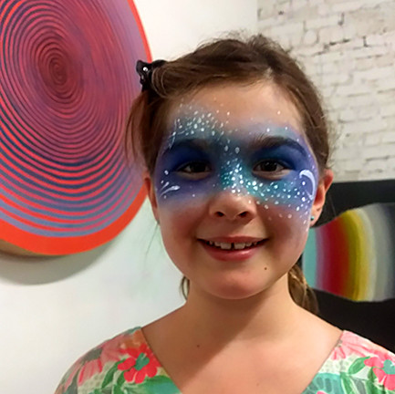 Face Paint Galaxy