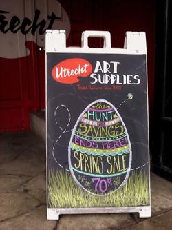 Spring Sale Easter Weekend