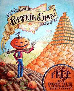 Circleville Pumpkin Show Poster