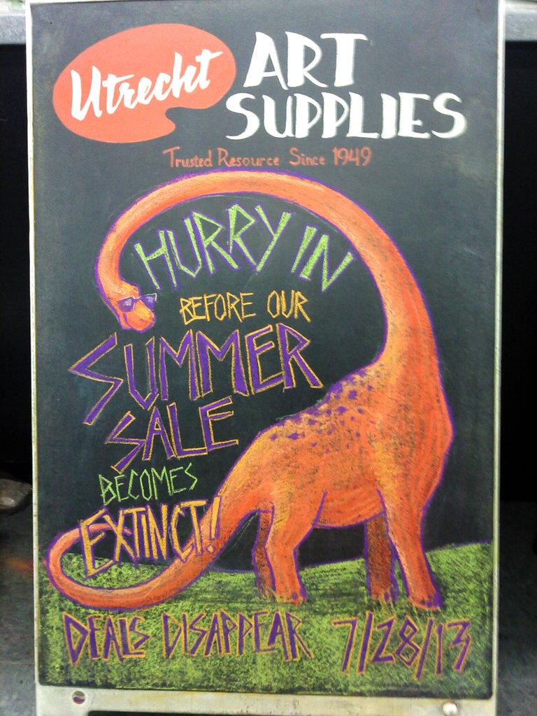 Utrecht Summer Sale Extinction