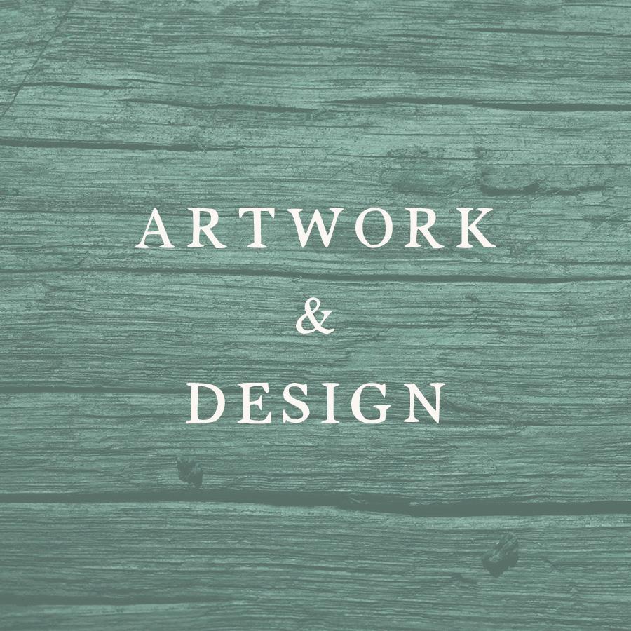 artwork and design button