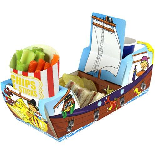 Servierschale Piratenschiff