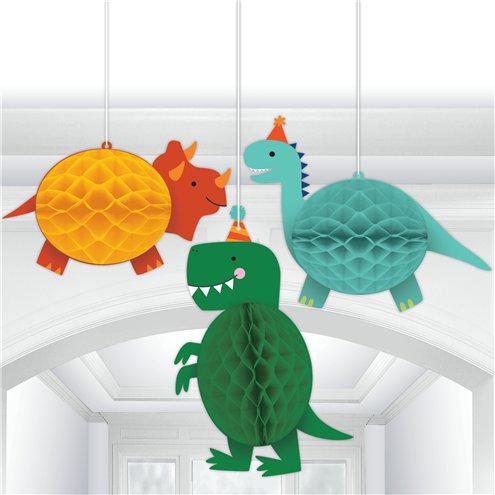Hängewaben mit Dino-Motiv