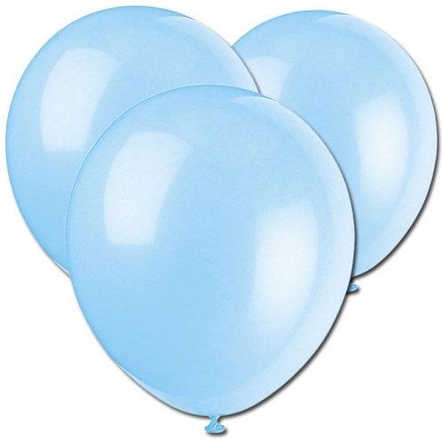 Luftballon hellblau 30cm