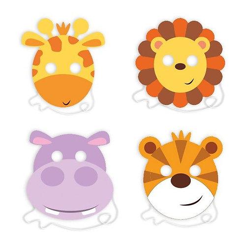 Maske Wilde Tiere / Dschungel