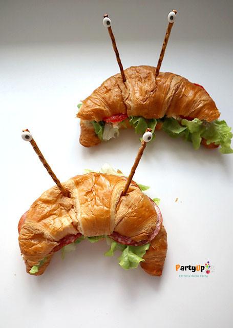 Herzhafte Idee zum Essen für das Kindergeburtstag Motto Piraten, Unterwasser oder Unter dem Meer
