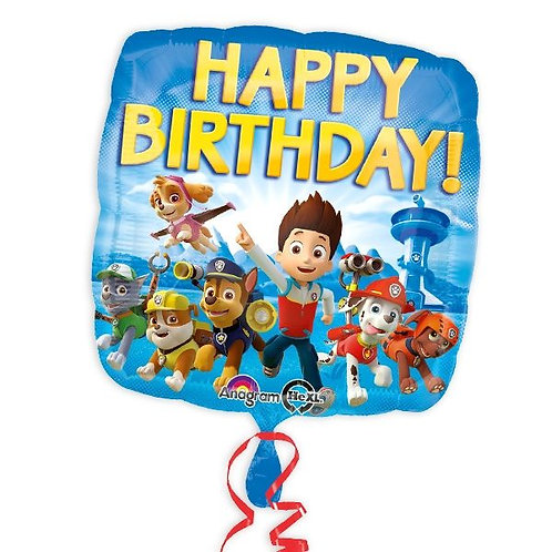 Folienballon Paw Patrol Happy Birthday