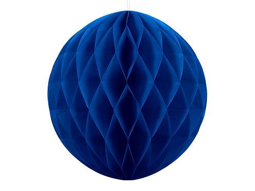 Wabenball dunkel blau