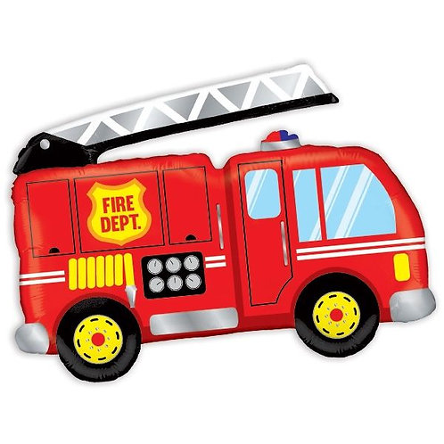 Folienballon Feuerwehrfahrzeug