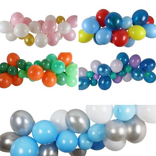 Ballongirlande selber zusammenstellen