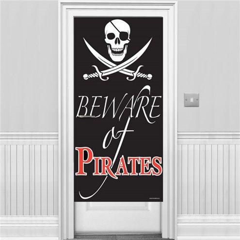"""Türbanner Piraten """"Beware of Pirates"""""""