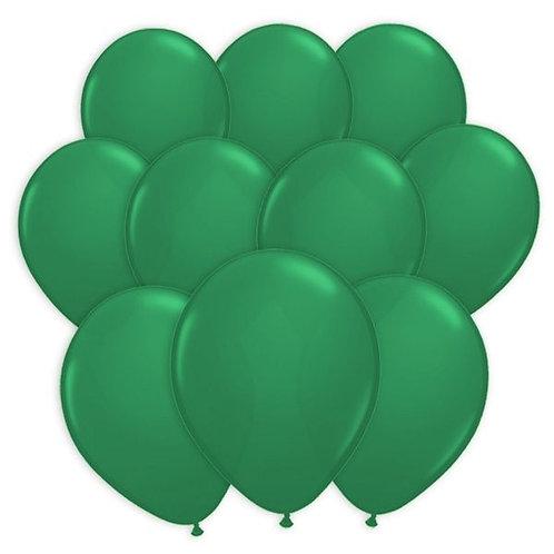 Luftballon dunkelgrün 28cm