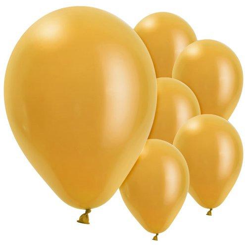 Luftballon gold