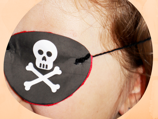 Augenklappe basteln - Piratenparty