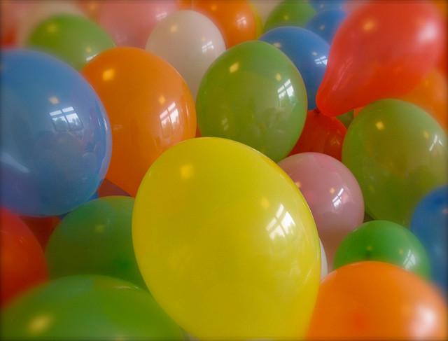 Spielideen mit Luftballone