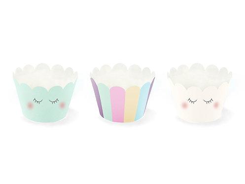 Cupcake Umrandungen 6 Stück
