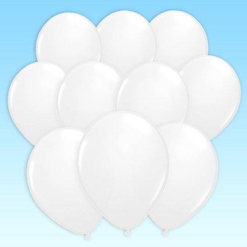 Luftballon weiss