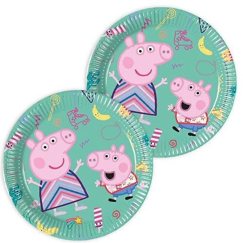 Teller Peppa Pig (Wutz) rund