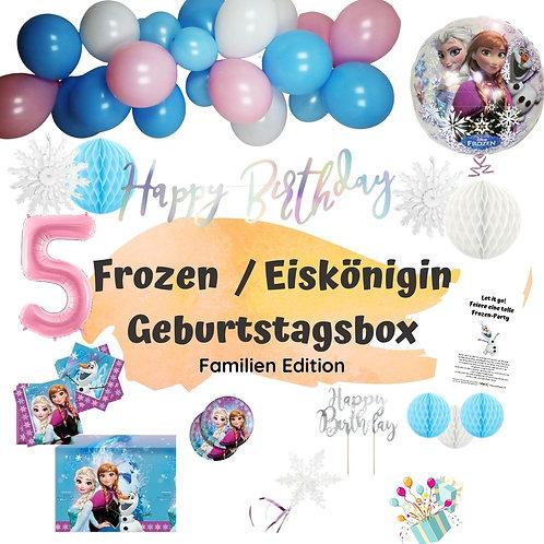 Geburtstagsbox Die Eiskönigin / Frozen - Familien Edition