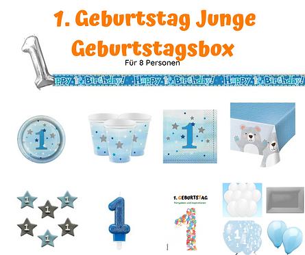 1. Geburtstag kleiner Star 2 Geburtstagsbox für 8 Personen