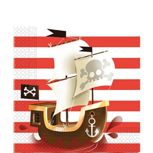 Serviette Ahoi Pirat
