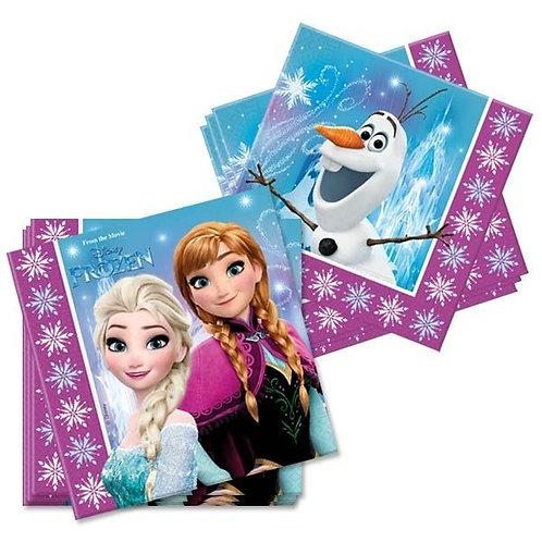 Serviette Frozen / Eiskönigin
