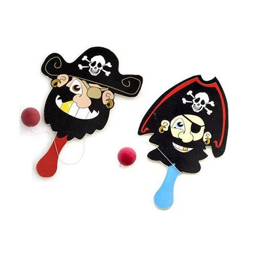 Ballspiel mit Piraten-Motiv