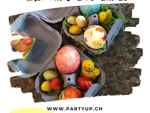 Laste Minute Osternest - Einfaches Ostern DIY zum basteln mit Kindern