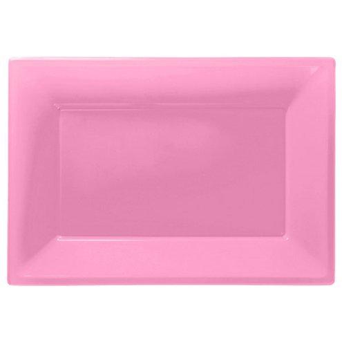Servierplatte rosa