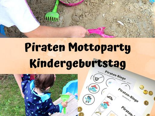 Piraten Mottoparty - 9 lustige Spielideen