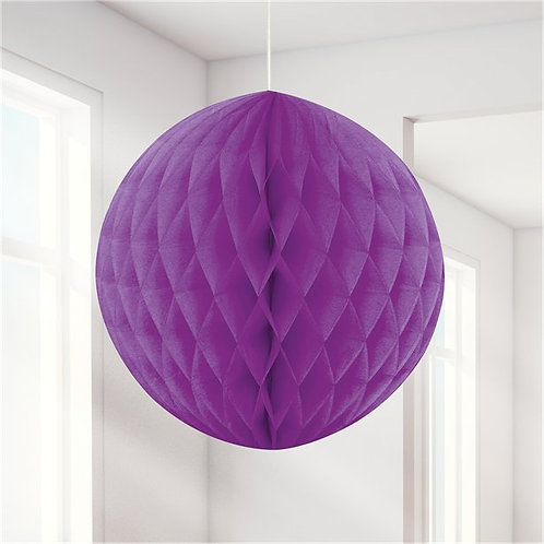 Wabenball lila 20cm
