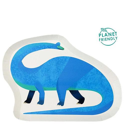 Teller kleiner Dino