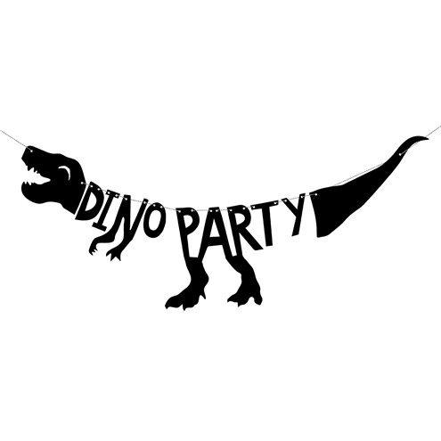 Girlande Dino Party