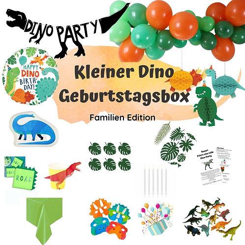 Dino Geburtstagsbox - Familien Edition