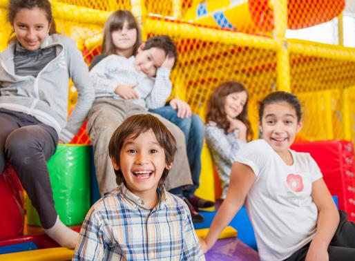 Kindergeburtstag im Indoorspielplatz